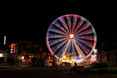 Wiener Prater at night Royalty Free Stock Images