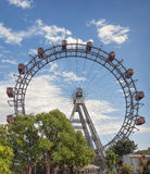 Wiener Riesenrad. The Wiener Riesenrad or Viennese giant wheel Stock Photography
