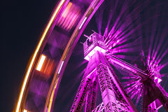 Wiener Riesenrad. Famous Ferris Wheel in Wien Royalty Free Stock Image