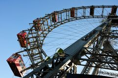Wiener Riesenrad (Vienna Giant Ferris Wheel) Stock Photography