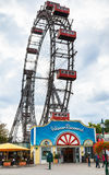 Wiener Riesenrad (Vienna Giant Wheel) in Prater Stock Images