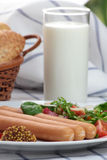 Wiener sausage. Stock Photography