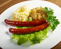 Wiener sausages Royalty Free Stock Photo