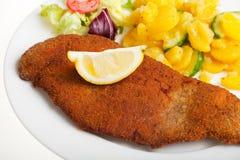 Wiener Schnitzel Lizenzfreies Stockbild