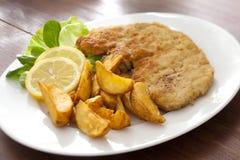 Wiener Schnitzel Royalty Free Stock Photos
