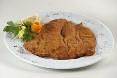 Wiener Schnitzel Royalty Free Stock Photography