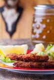 Wiener schnitzel Stock Image