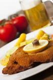Wiener schnitzel Stock Images