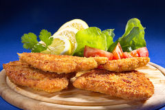 Wiener schnitzel Royalty Free Stock Photography