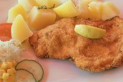 Wiener schnitzel Royalty Free Stock Image