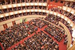 Wiener Staatsoper audytorium obrazy stock