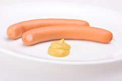 Wiener Würstchen Stockfotografie
