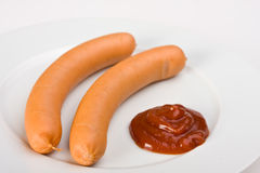 Wiener Würstchen Lizenzfreies Stockfoto
