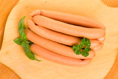 Wieners sausages Royalty Free Stock Images