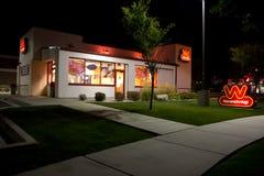 Wienerschnitzel building @ Night Stock Photography