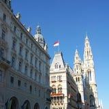 Wienet Rathaus Image libre de droits