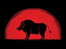 Wieprz świnia ilustracji