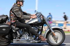 WIEPRZ Rallye, Harley-Davidson CASCAIS 2019 obraz royalty free