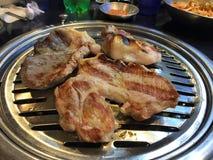 Wieprzowina brzucha BBQ Zdjęcia Stock