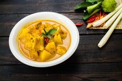 Wieprzowina curry z ananasem obraz stock