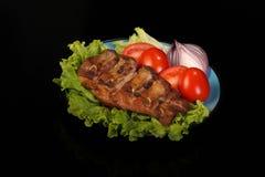 Wieprzowina grill Obraz Royalty Free
