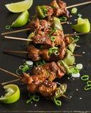 Wieprzowina Kebab Zdjęcia Stock