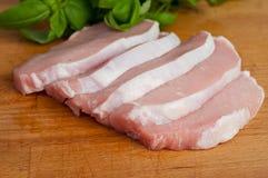 Wieprzowina kotlecik - schnitzel Zdjęcie Royalty Free