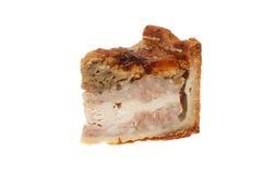 Wieprzowina kulebiak Obrazy Stock