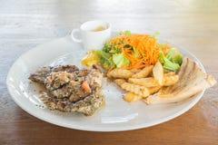 wieprzowina piękny wyśmienicie stek Zdjęcie Stock