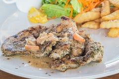 wieprzowina piękny wyśmienicie stek Zdjęcie Royalty Free