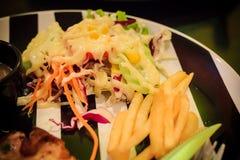 wieprzowina piękny wyśmienicie stek Obraz Stock