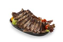 wieprzowina piec na grillu ziobro Zdjęcie Royalty Free