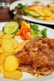 wieprzowina piquant mięsny sos Obrazy Stock