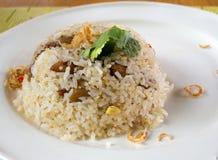 wieprzowina smażący ryż Obraz Royalty Free