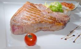 wieprzowina smażący stek Obraz Royalty Free