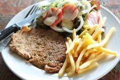 Wieprzowina stek obraz stock