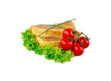 Wieprzowina stek marynujący Fotografia Stock