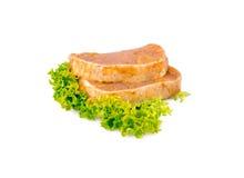Wieprzowina stek marynujący Zdjęcia Stock