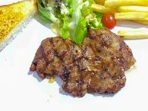 Wieprzowina stek z czarnym pieprzem Zdjęcia Royalty Free