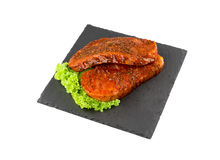 Wieprzowina stek z pieprzem Obrazy Royalty Free