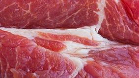 Wieprzowiny świeży mięso Fotografia Stock