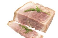 Wieprzowiny mięsna rolka Zdjęcia Royalty Free