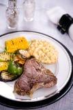 Wieprzowiny piec na grillu mięso Obraz Stock