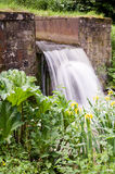 Wier-Spillway-Overflow Stock Photography