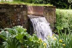 Wier - Spillway - Overflow Royalty Free Stock Photography