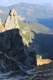Wierch in montagne di Tatra, Polonia di Kasprowy Immagine Stock Libera da Diritti