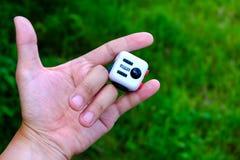 Wiercipięta sześcian zdjęcie stock