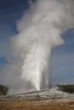 wierny krajowy stary parkowy Yellowstone Zdjęcia Stock