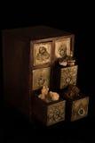 Wierookhars, goud en mirre Royalty-vrije Stock Foto