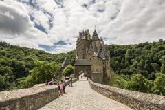 WIERSCHEM, ALLEMAGNE, LE 30 JUIN 2017 : Burg Eltz au Rhénanie-Palatinat images libres de droits